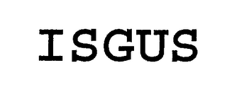 mark for ISGUS, trademark #76975534