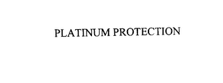 mark for PLATINUM PROTECTION, trademark #76975796