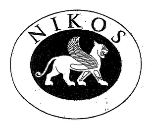 mark for NIKOS, trademark #76975972