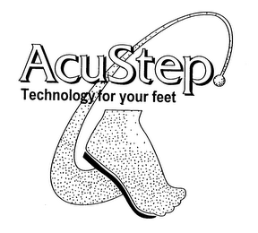mark for ACUSTEP TECHNOLOGY FOR YOUR FEET, trademark #76976173