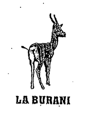 mark for LA BURANI, trademark #76976914