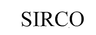 mark for SIRCO, trademark #76978179