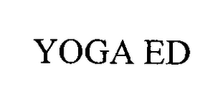 mark for YOGA ED, trademark #76978199