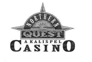 mark for NORTHERN QUEST A KALISPEL CASINO, trademark #76978239
