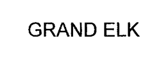 mark for GRAND ELK, trademark #76978302