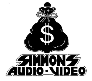 mark for SIMMONS AUDIO-VIDEO, trademark #76978677