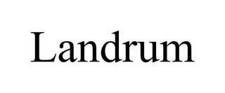 mark for LANDRUM, trademark #77000133