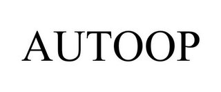mark for AUTOOP, trademark #77000723