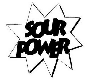 mark for SOUR POWER, trademark #77001544