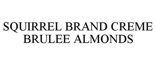 mark for SQUIRREL BRAND CREME BRULEE ALMONDS, trademark #77002386