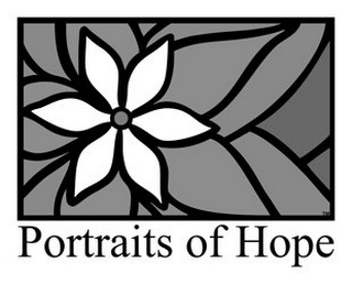 mark for PORTRAITS OF HOPE, trademark #77002534