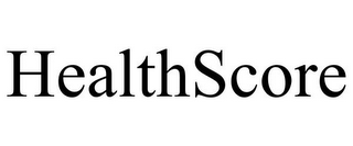 mark for HEALTHSCORE, trademark #77002868