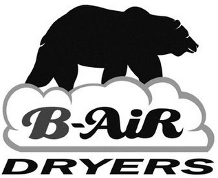 mark for B-AIR DRYERS, trademark #77005624