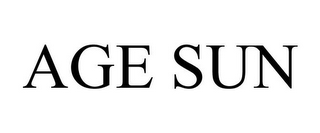 mark for AGE SUN, trademark #77005778