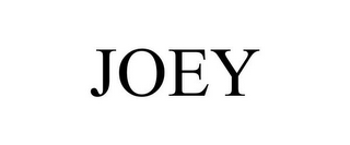 mark for JOEY, trademark #77006636