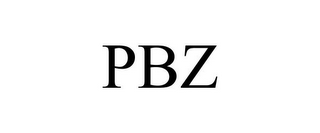 mark for PBZ, trademark #77006722