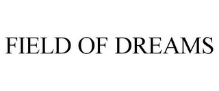 mark for FIELD OF DREAMS, trademark #77007412