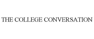 mark for THE COLLEGE CONVERSATION, trademark #77007656