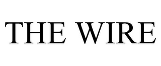 mark for THE WIRE, trademark #77008908