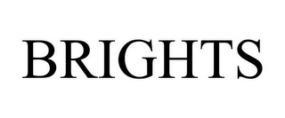 mark for BRIGHTS, trademark #77009693