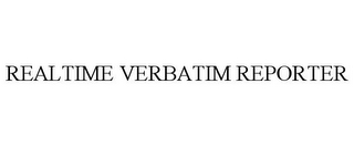 mark for REALTIME VERBATIM REPORTER, trademark #77010179
