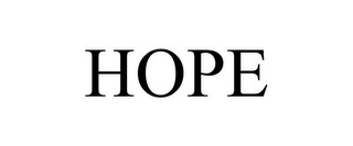 mark for HOPE, trademark #77010920