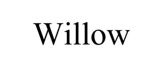 mark for WILLOW, trademark #77011706