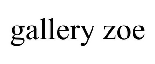 mark for GALLERY ZOE, trademark #77012124