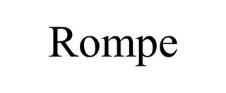 mark for ROMPE, trademark #77012226