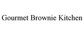 mark for GOURMET BROWNIE KITCHEN, trademark #77012400