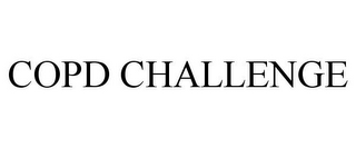 mark for COPD CHALLENGE, trademark #77012898