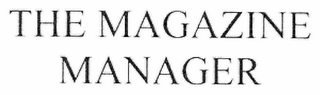 mark for THE MAGAZINE MANAGER, trademark #77013627
