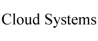 mark for CLOUD SYSTEMS, trademark #77014373