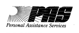 mark for PAS PERSONAL ASSISTANCE SERVICE, trademark #77014711