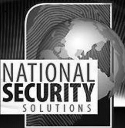 mark for NATIONAL SECURITY SOLUTIONS, trademark #77015413