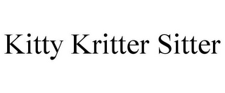 mark for KITTY KRITTER SITTER, trademark #77017042
