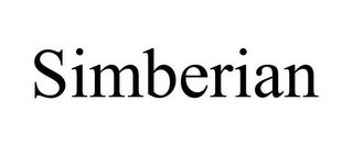 mark for SIMBERIAN, trademark #77017199
