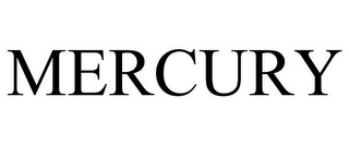 mark for MERCURY, trademark #77017432