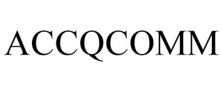 mark for ACCQCOMM, trademark #77018253