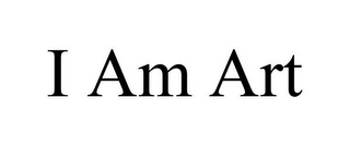 mark for I AM ART, trademark #77019360