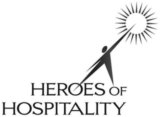 mark for HEROES OF HOSPITALITY, trademark #77019428