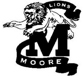 mark for M MOORE LIONS, trademark #77019699