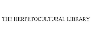 mark for THE HERPETOCULTURAL LIBRARY, trademark #77023751