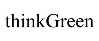 mark for THINKGREEN, trademark #77025371
