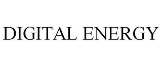 mark for DIGITAL ENERGY, trademark #77025800