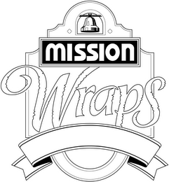 mark for MISSION WRAPS, trademark #77027179