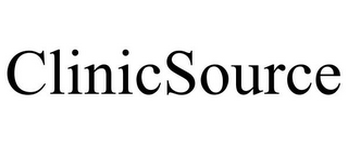 mark for CLINICSOURCE, trademark #77027376