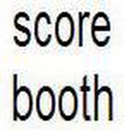mark for SCOREBOOTH, trademark #77029088