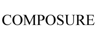 mark for COMPOSURE, trademark #77029344