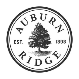 mark for AUBURN RIDGE EST. 1898, trademark #77029360
